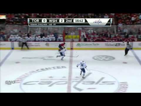Dion Phaneuf vs. Alex Ovechkin 12/9/11