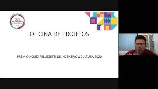 Esclarecimento de dúvidas sobre Prêmio Nodgi Pellizzetti 2020 - (15/10)