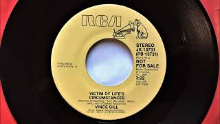 victim of lifes circumstances vince gill 1984