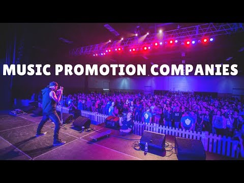Music Promotion Companies & Services