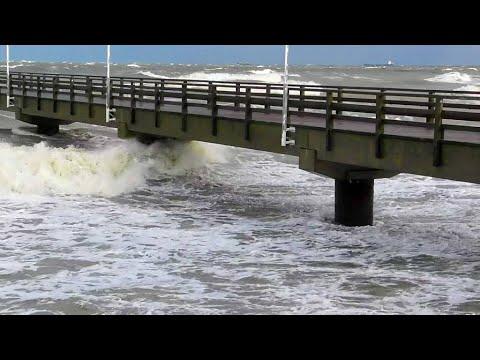Sturmflut 2019 (Seebad Ahlbeck /Usedom)