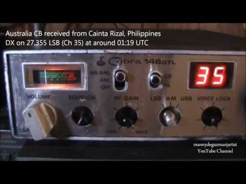 (CENSORED) Obscene Radio Talk on CB Channel 35 (27.355 LSB) - Australia to Philippines DX Reception