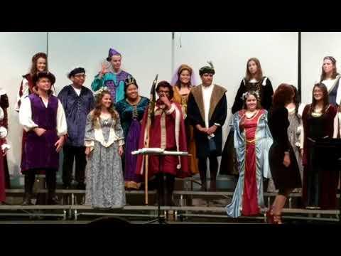 Elgin High School 2017 Fall Choral Concert, Chamber Choir