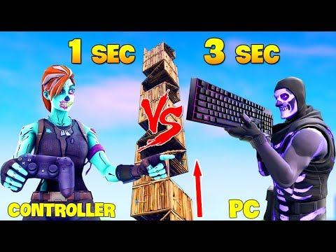 Best Controller Players Vs Best PC Players (Who Is Fastest Building) | GodLike Fortnite
