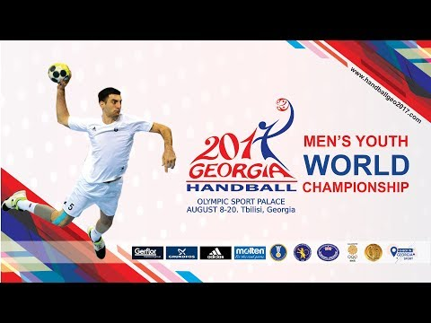 Iceland - Georgia (Group B). IHF Men's Youth World Championship
