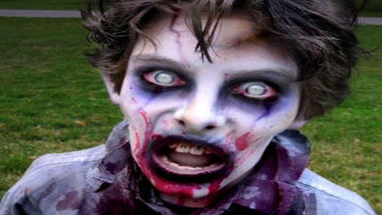 Maquillaje para halloween para ni os youtube - Como pintar la cara de nina de bruja ...