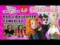 Dad & Daughter play Disney Infinity 2.0 ORIGINALS: Maleficent, Merida & Tinker Bell Toy Box