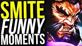 REMIND ME TO NEVER PLAY THIS AGAIN... - SMITE FUNNY MOMENTS