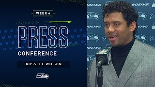 Russell Wilson Postgame Press Conference at Browns | 2019 Seattle Seahawks