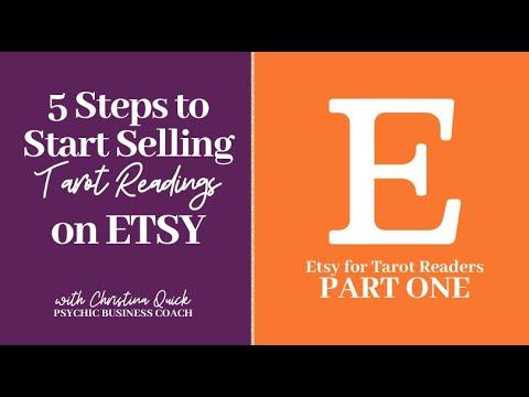 5 Steps To Start Selling Tarot Readings On Etsy