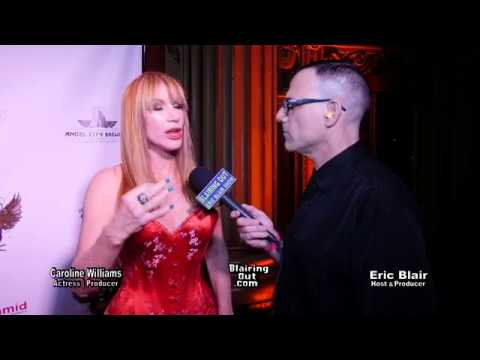 Actress Caroline Williams & Eric Blair T Rob Zombie @Rock Against MS 2018