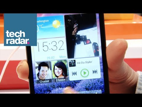 Huawei Ascend P2 Hands On @ MWC 2013