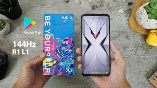 Nubia Play 5g Indonesia, Layar 144hz, Tombol R1l1