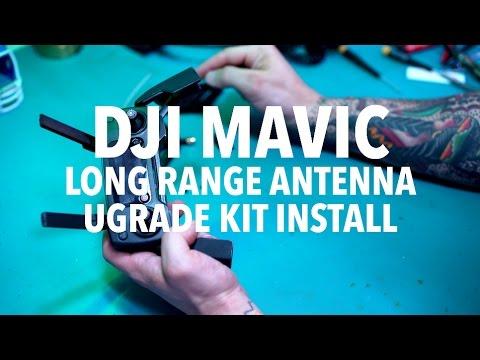 DJI MAVIC Long Range Antenna Upgrade Install