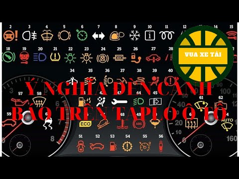 ý nghĩa đèn cảnh báo trên taplo ô tô   64 ý nghĩa đèn cảnh báo trên taplo   vua xe tải