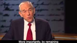 An Exclusive With Ron Paul The Truth About the Economy is Terrifying
