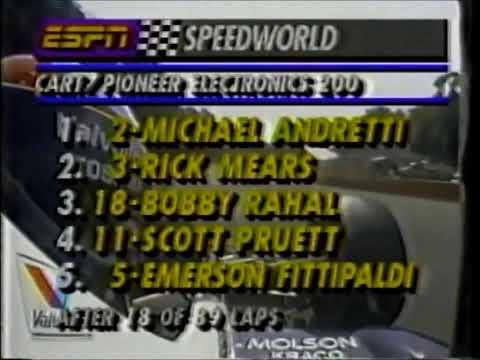 """GP de Mid-Ohio de 1991 : Michael Andretti """"O MELHOR da Indy"""" (p3)"""