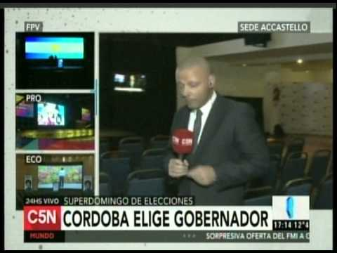 C5N - ELECCION 2015: COBERTURA EN CORDOBA (PARTE 2)