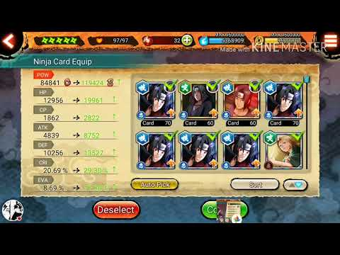 160k+ Ability Point into Susanoo Itachi - Naruto X Boruto Ninja Voltage