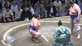 20150520 大相撲夏場所11日目 碧山vs琴将菊.