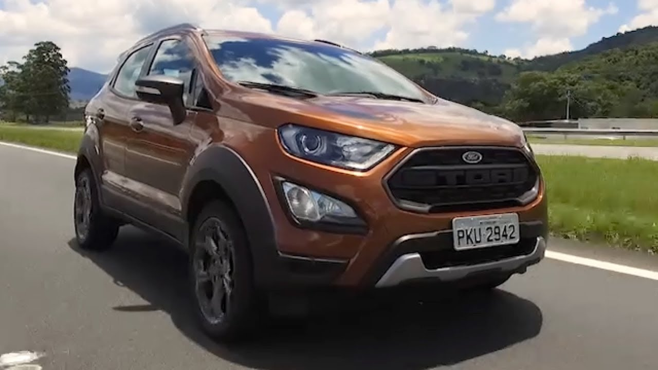 2018 Ford Ecosport Storm Brazil Youtube