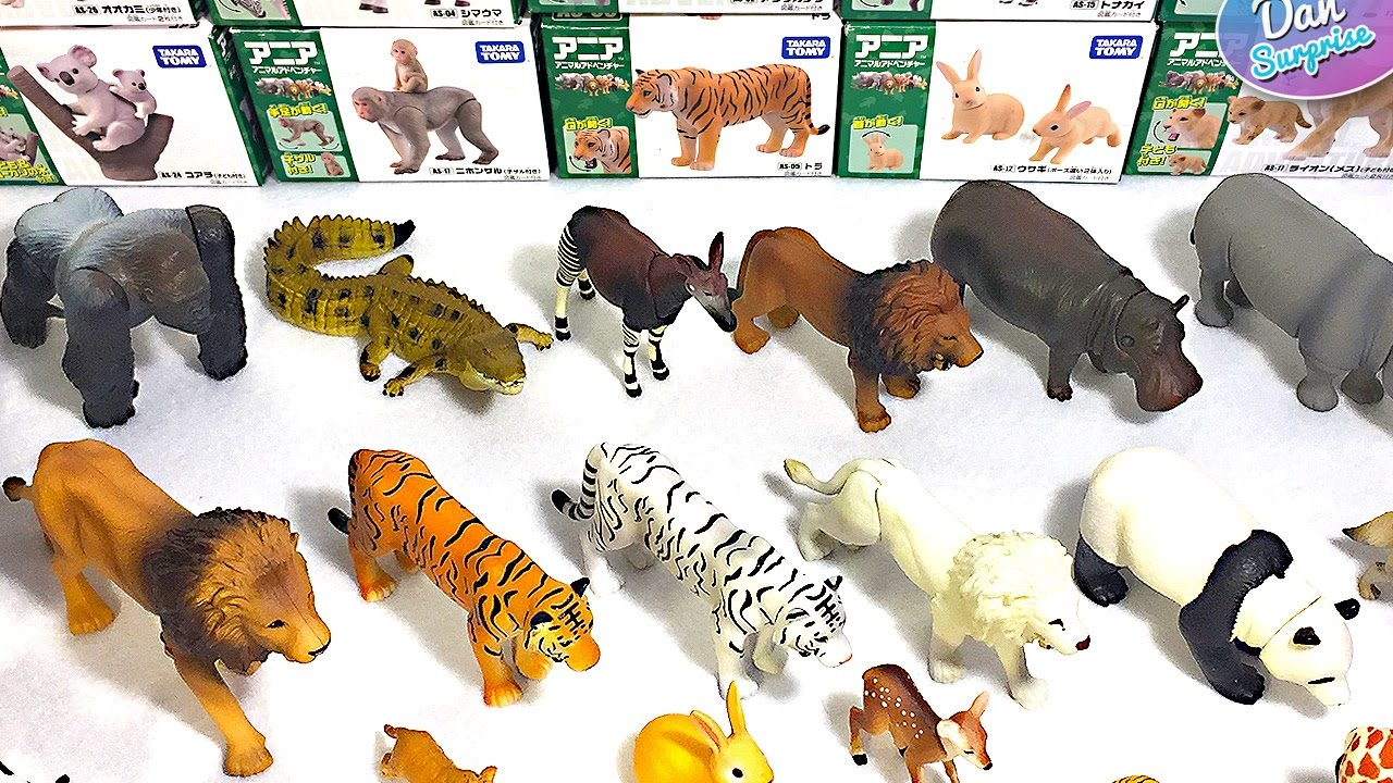 toys animal tomy takara collection names learn