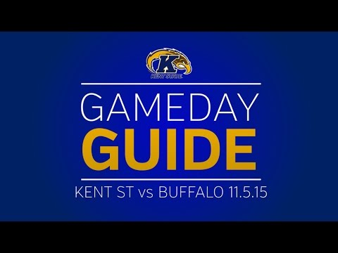 Gameday Guide Kent State vs. Buffalo 11.5.15