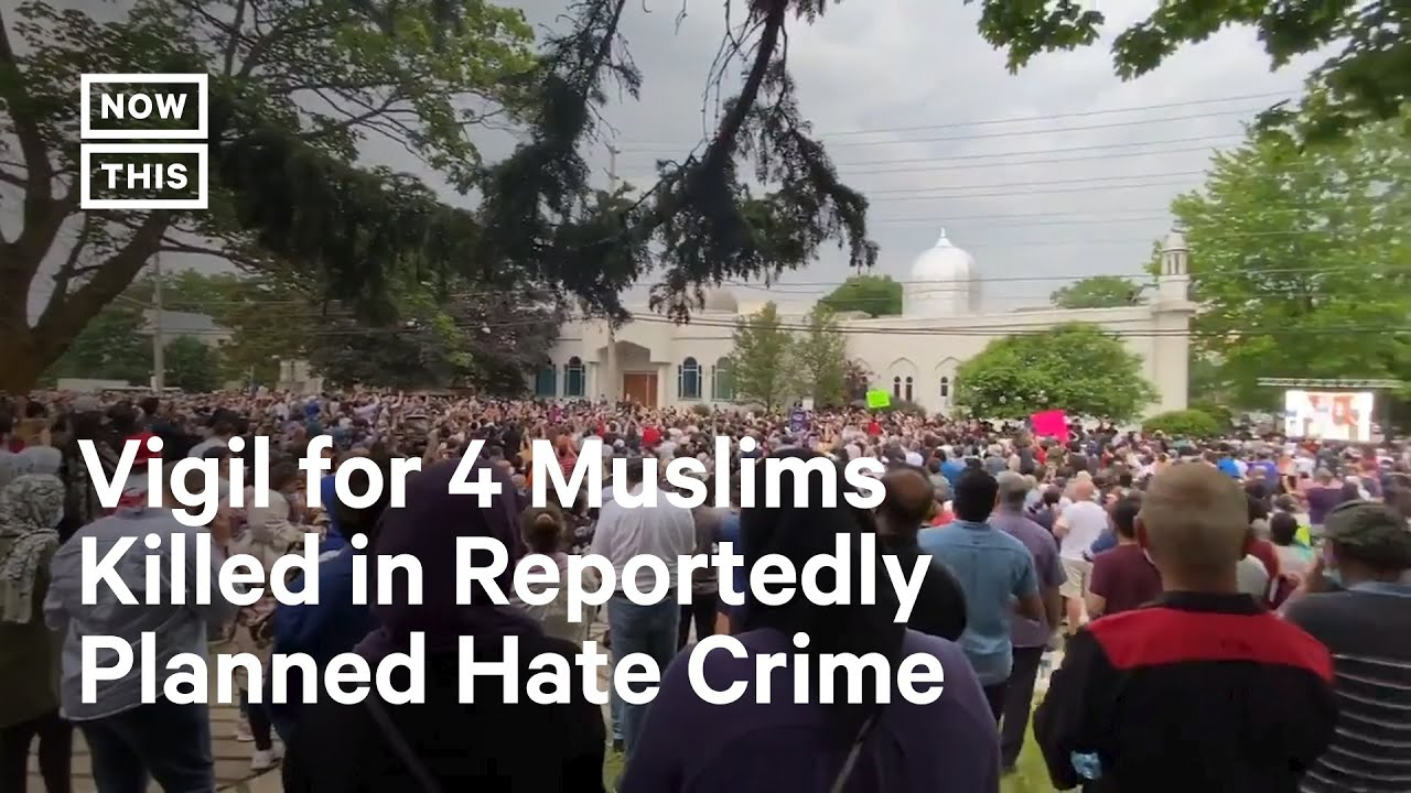 Download Thousands Attend Vigil for Muslim Family Attacked in Canada