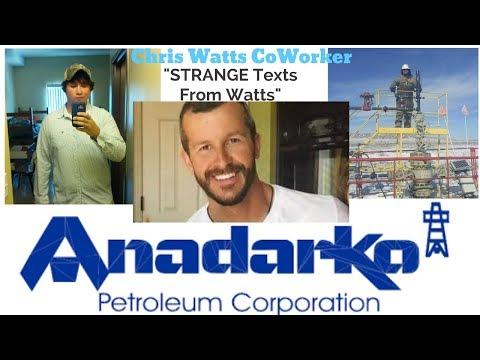 "**STRANGE MESSAGES FROM WATTS"" The CHRIS WATTS Case CBI ANADARKO Kodi Roberts Interview"