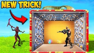 *NEW TRICK* PUT TRAPS INSIDE PRESENTS! - Fortnite Funny Fails and WTF Moments! #422