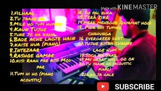 Nonstop ✨ jukebox. | DANISH MUSIC WORLD |mid2020 PIANO COVER🎹 by Danish parmar| ((use headphones))
