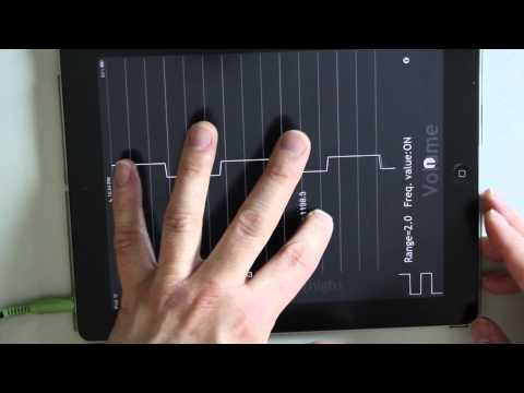 iPad iPhone Music App: Fourier Touch