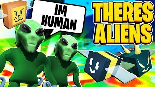 Area 51 Alien Take Over In Roblox Bee Swarm Simulator