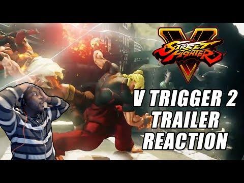 My Favorite Super Move EVER! | Street Fighter V Arcade Edition | V Trigger II Teaser | Reaction