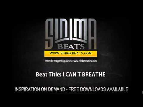 Sinima Beats - I CAN'T BREATHE Instrumental (Dark and Sad Dirty South Beat)