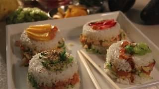 Salmon & Surimi Sushi Cakes