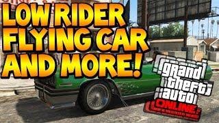 "Gta 5 Online: Amazing lowrider, flying car & weapon mods! ""GTA 5 Mods"""