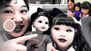 [도전]영상을 끝까지 본다면 당신은 강심장2  스노우 어플 할로윈 게임 장난감 놀이 boss baby & Toy 라임튜브
