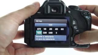 2 Canon EOS 600D Makinenizi Tanıyın