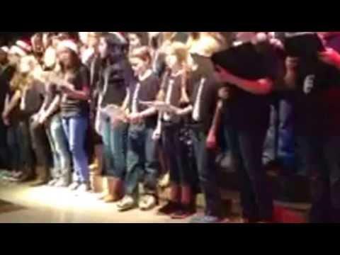 Donna Shepard Intermediate School holiday choir performance