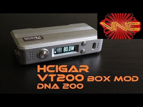 HCigar VT200 Box Mod Review