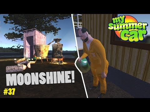 Making Pontikka (Moonshine) - Mobile Phone! | My Summer Car