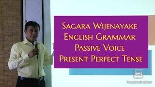 Passive Voice, present Perfect Tense