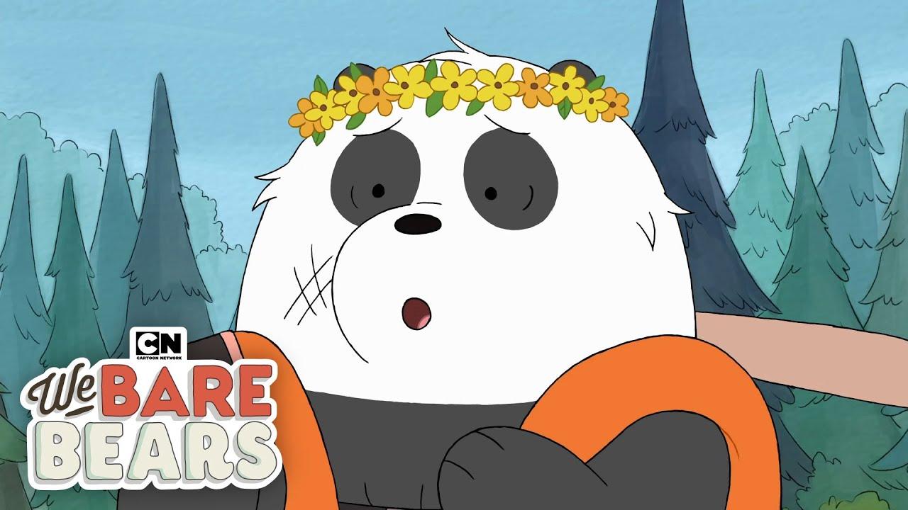 bears go on tubing adventure we bare bears cartoon network youtube