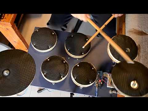 DIY Electronic Drums - Arduino MIDI Drums