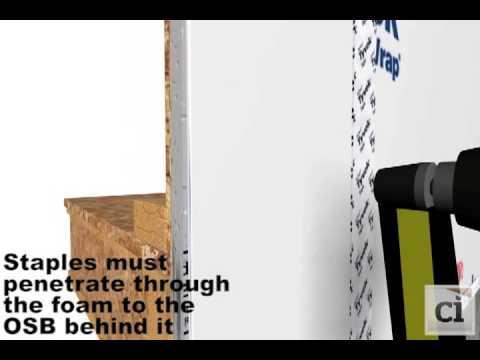 Tyvek HomeWrap - 9' x 150' - 1 Roll House Wrap | DuPont