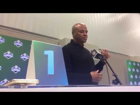 Exclusive: Houston Texans GM Rick Smith Combine Conference