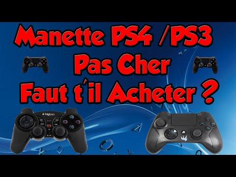 Manette PS4/PS3 Pas Cher (Low Cost) Faut T'il Acheter ?