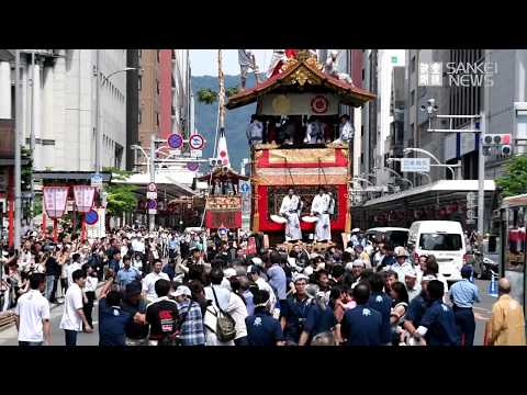 Image result for Man dies after being hit by float in Gion Festival parade