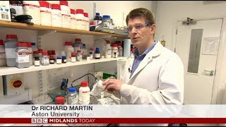 Aston University scientist develops bacteria-killing 'stained glass'